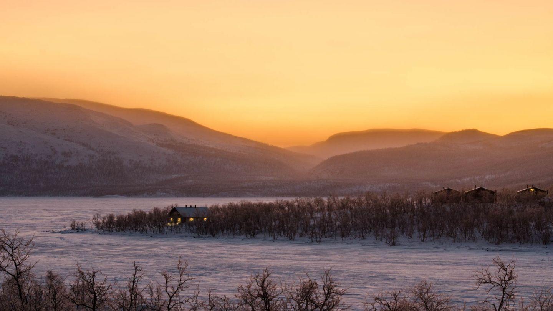 Hut in Lapland