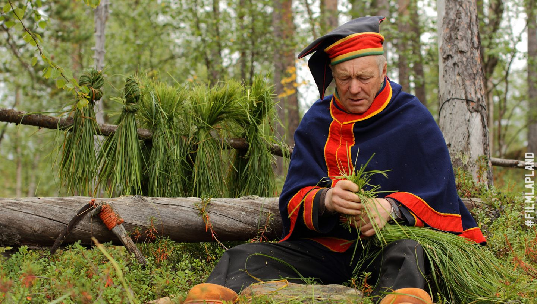 Sámi handicrafts in Lapland