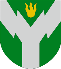 Coat of arms for Rovaniemei, Finland