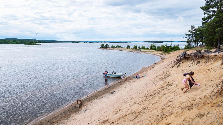 kemijärvi beach | beaches in finland
