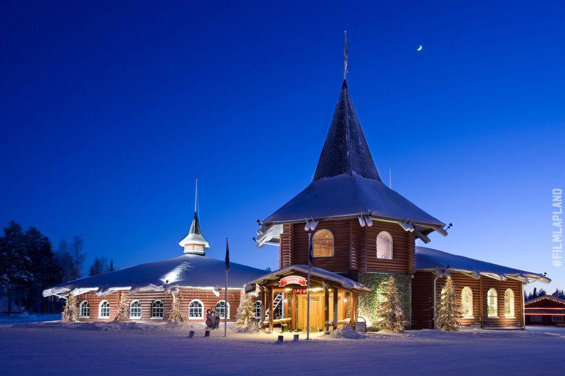 Christmas House in Rovaniemi, Finland