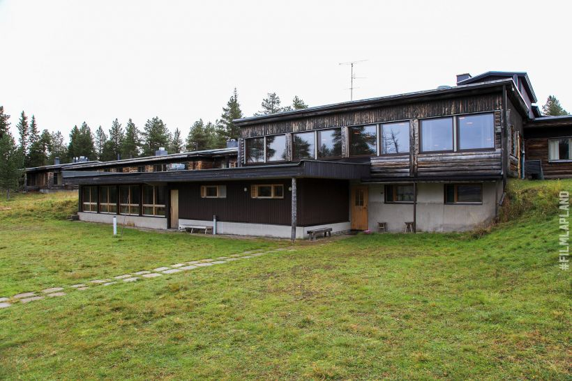 Retro house in Enontekiö, Finland
