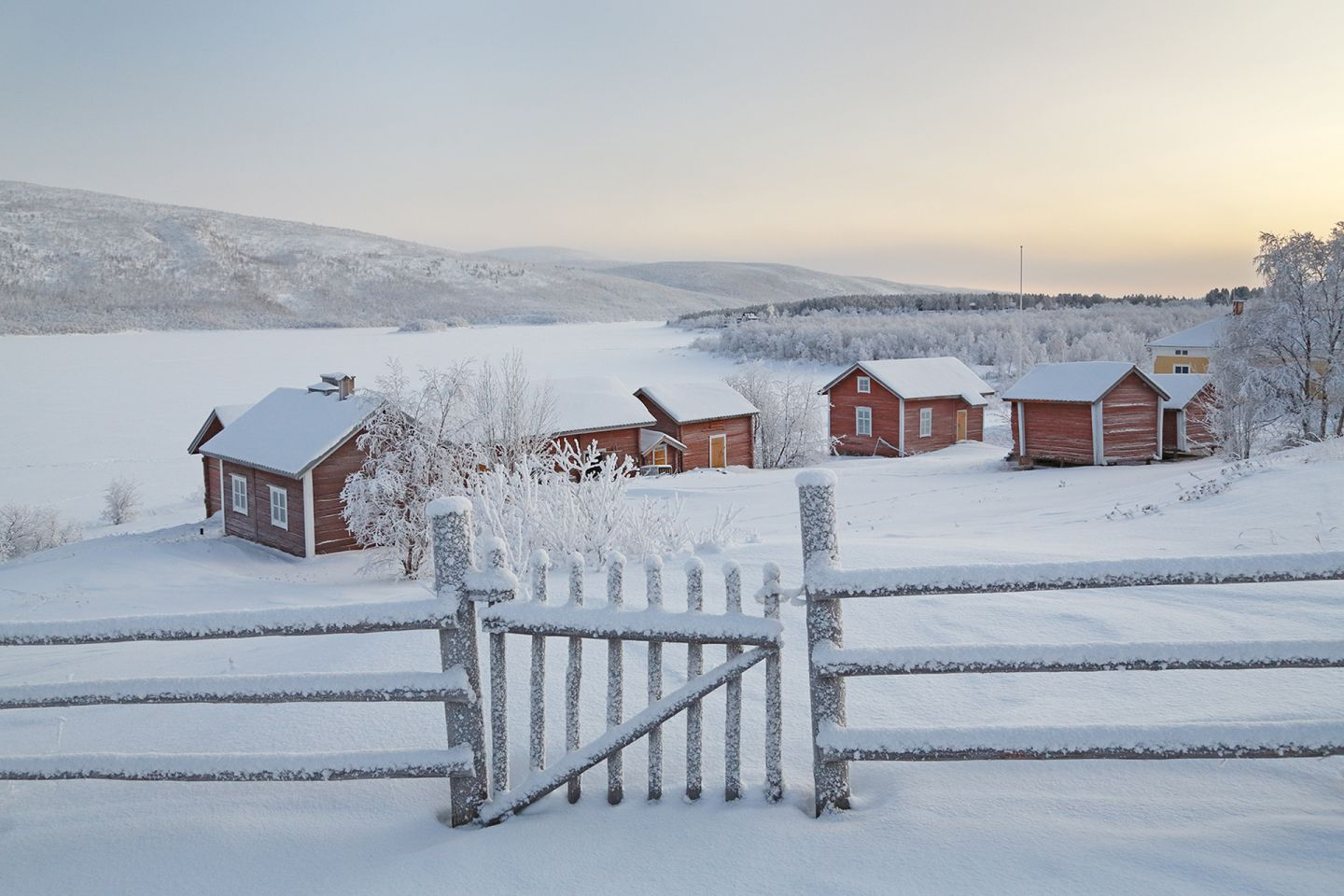 Historic buildings in Utsjoki, Finland