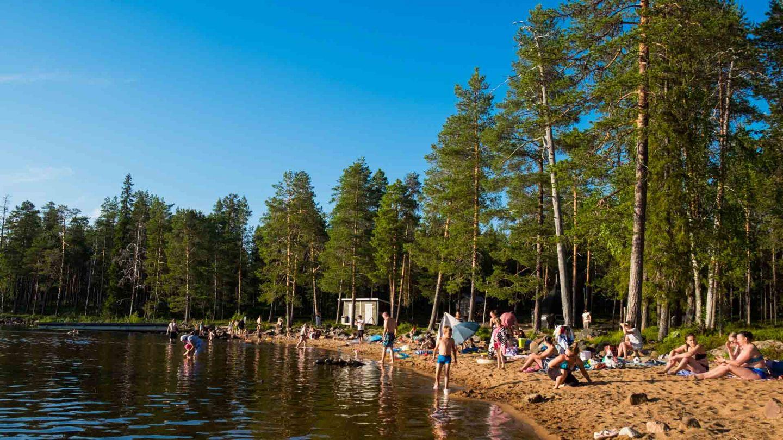 Norvajärven uimaranta