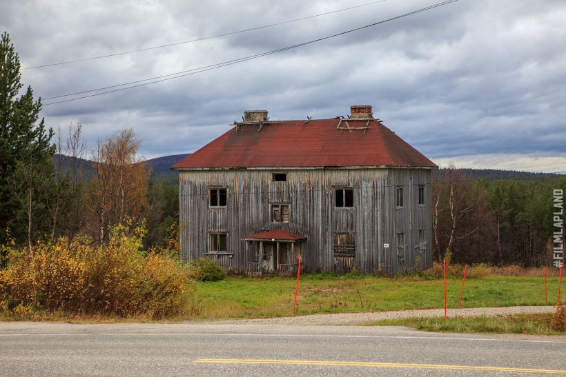 Abandoned wooden building in Enontekiö, Finland
