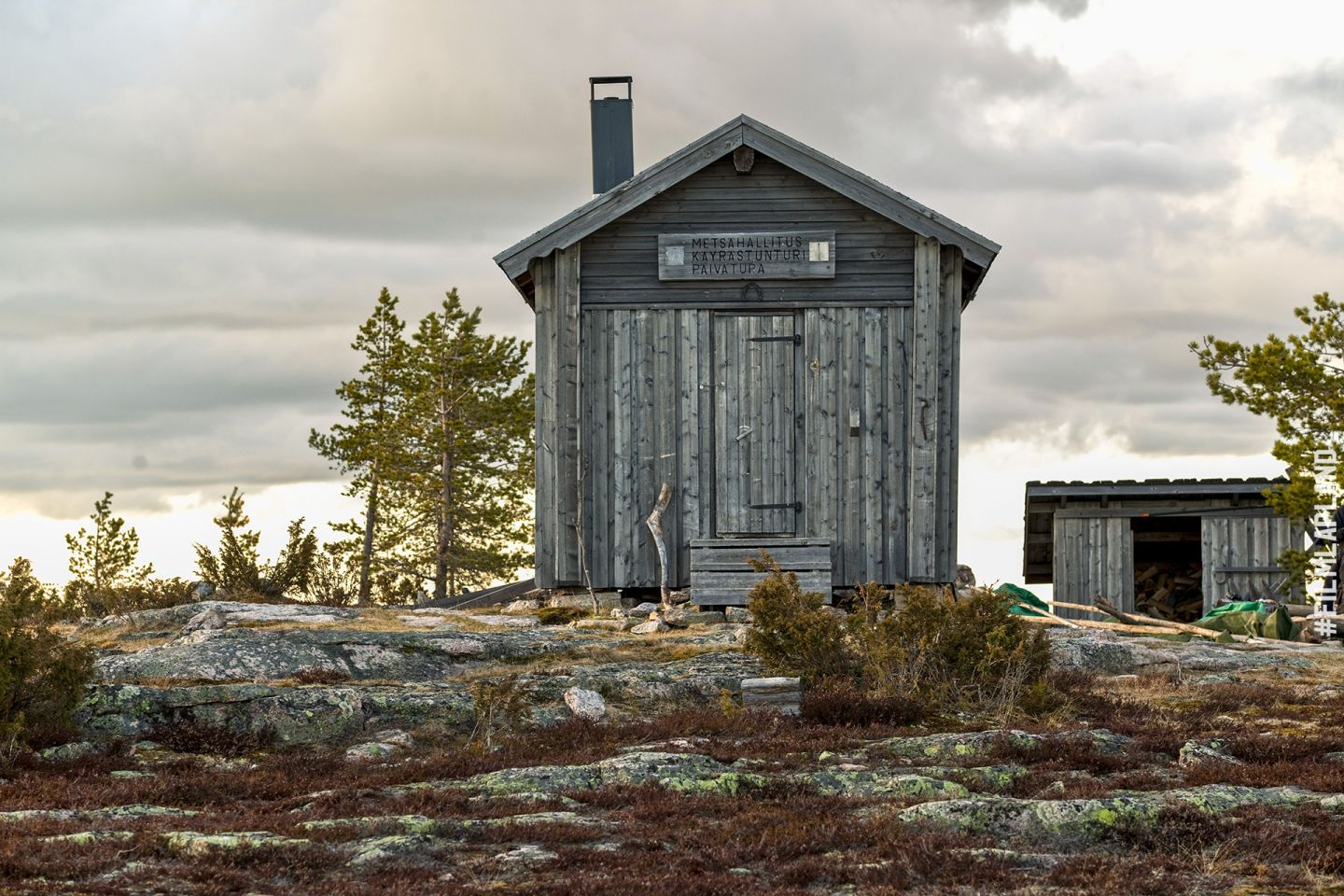 Wilderness hut in Rovaniemi, Finland
