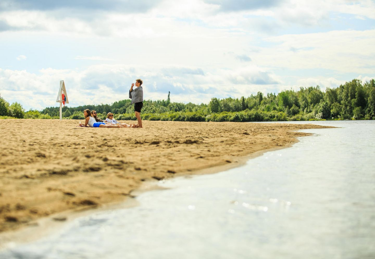 beach in ivalo | beaches in finland