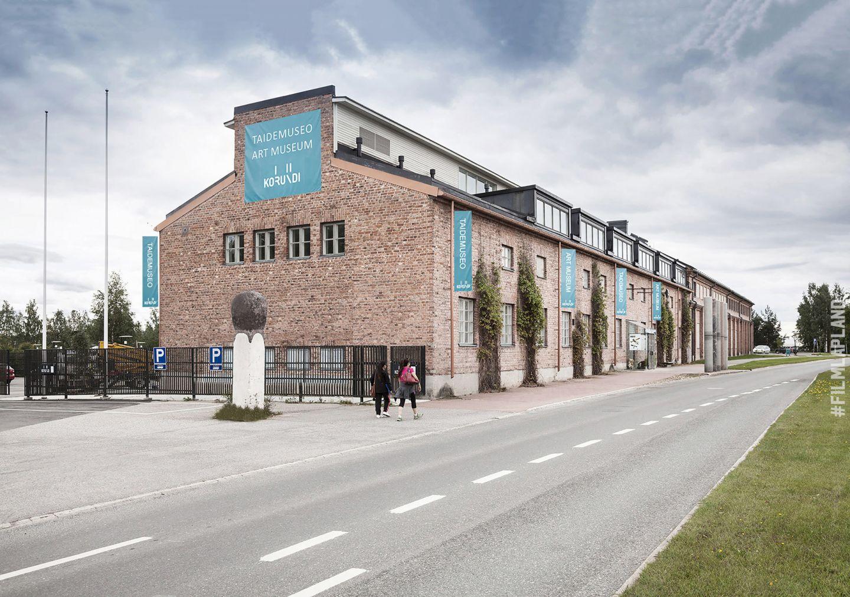 Korundi art museum in Rovaniemi, Finland