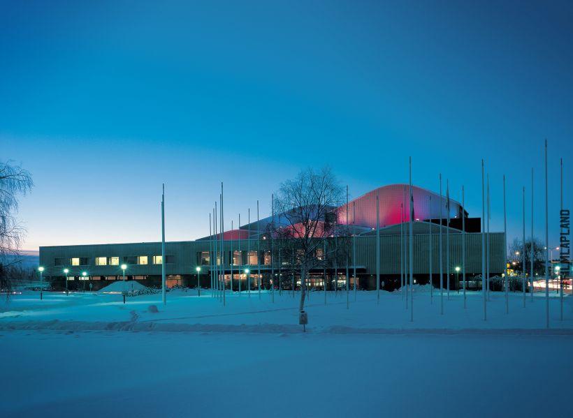 Theater in Rovaniemi, Finland