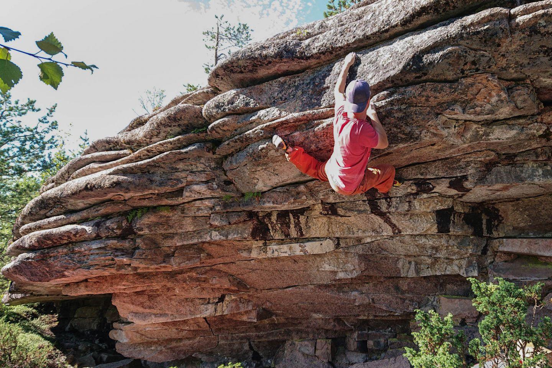 Boulderointi Lappi lapin kiipeilijät