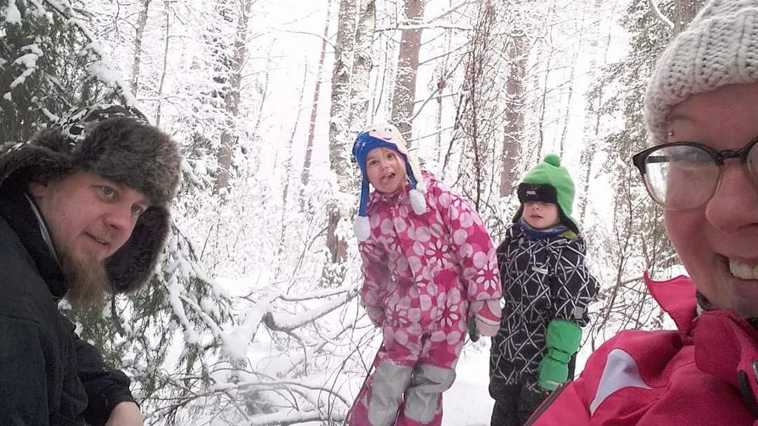 Kemijärven kaunis luonto tarjoaa perheille mukavia aktiviteetteja