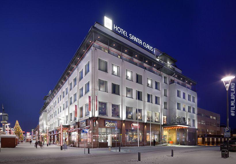 Big hotel in the city centre of Rovaniemi, Finland