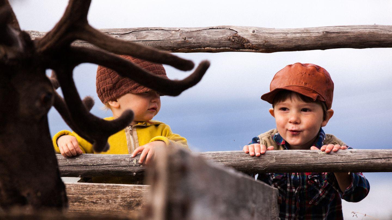 Lapsuus Lapissa on turvallinen ja luonto on lähellä
