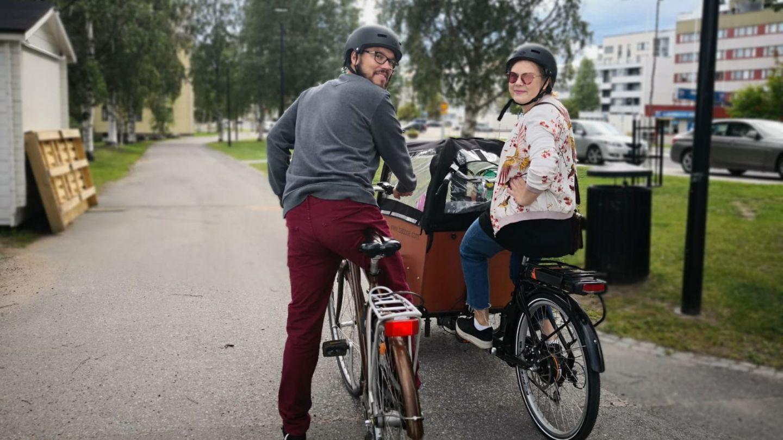 Rovaniemi tarjoaa perheille kaupunkielämää sekä luontoa