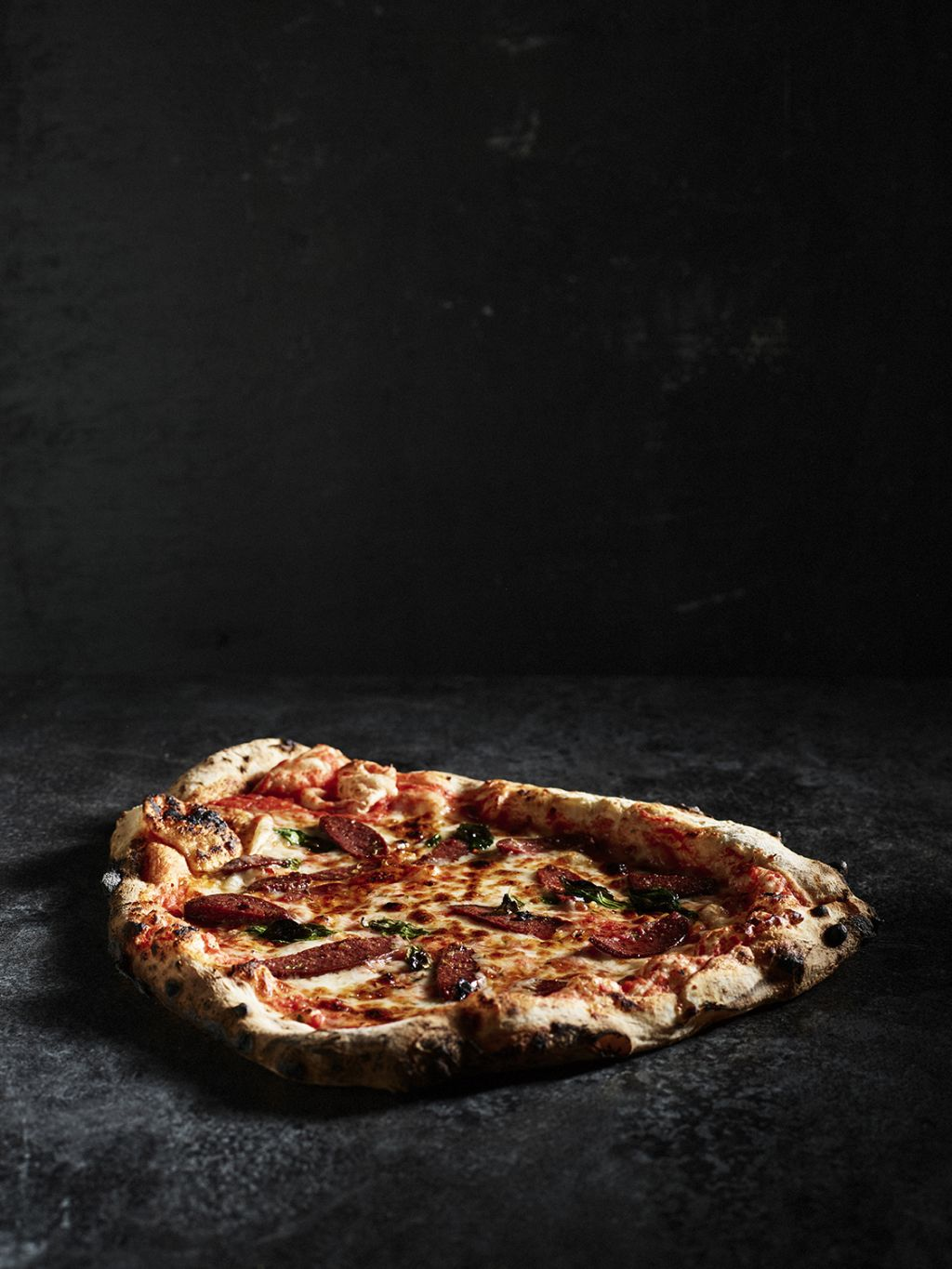 Lapland food, pizza | Petri Teppo photographer of the month
