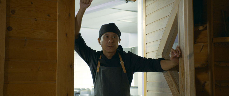 Still from Master Cheng, filmed in Finnish Lapland