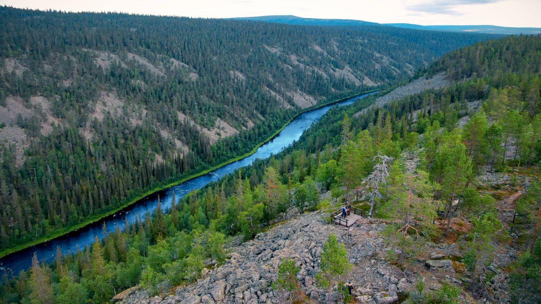 The Nuortti River Gorge in Savukoski, Finland