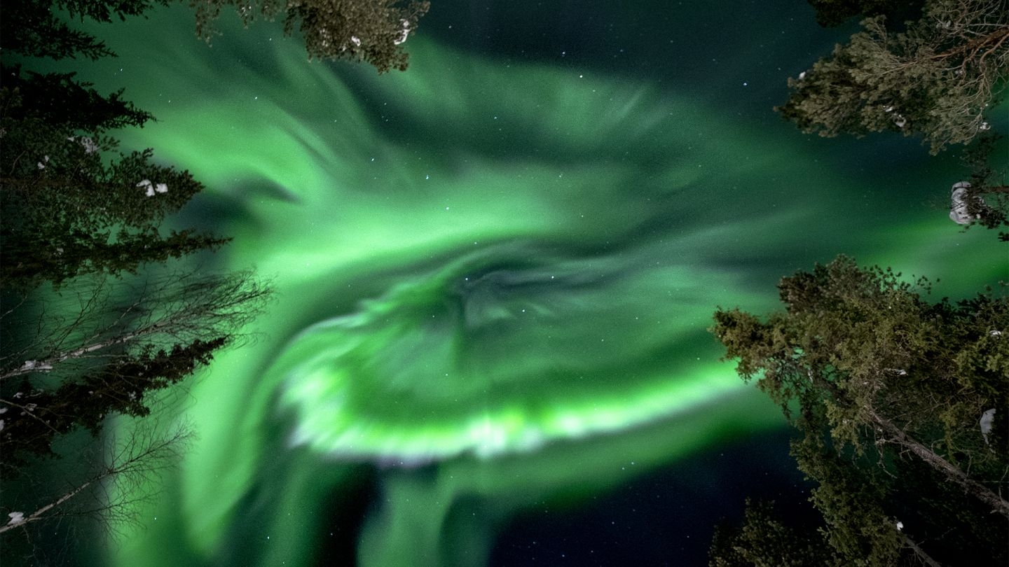 Northern lights science - Lapland