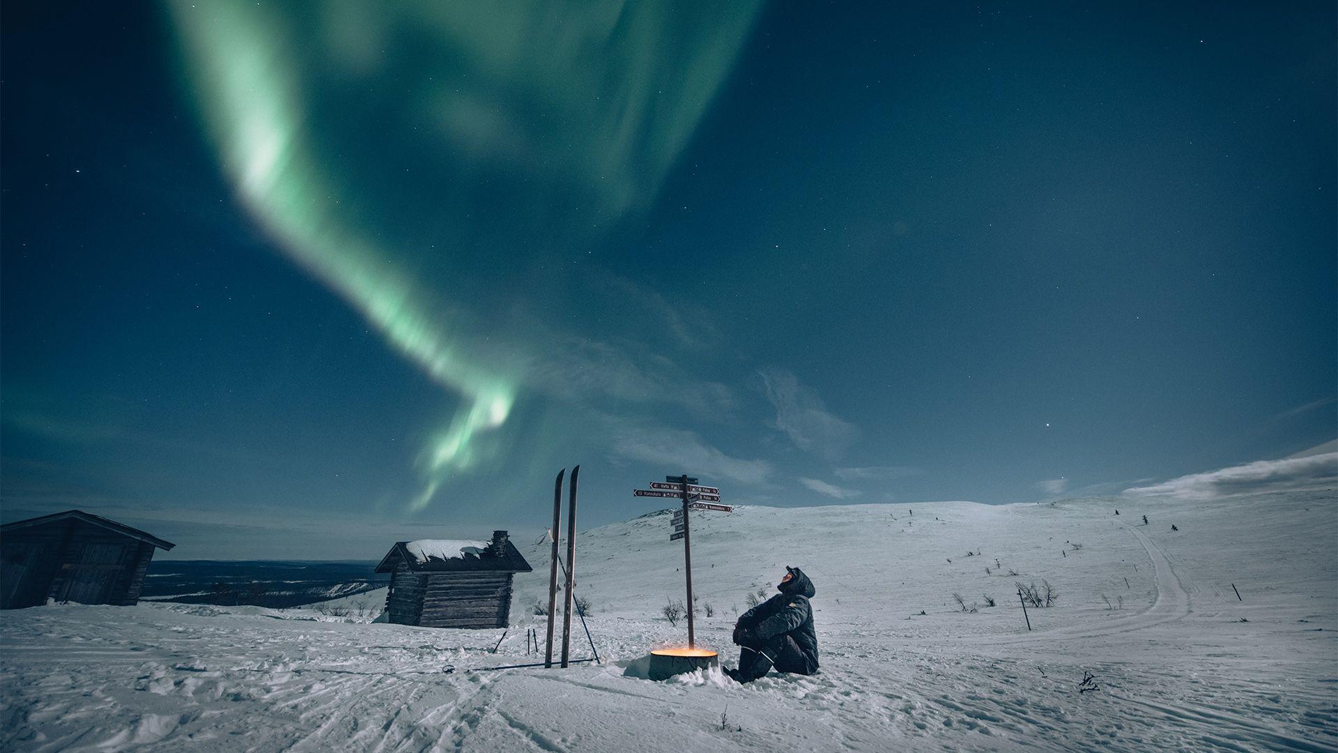 Winter in Lapland Finland