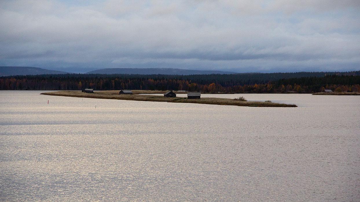Suvanto village in Finnish Lapland