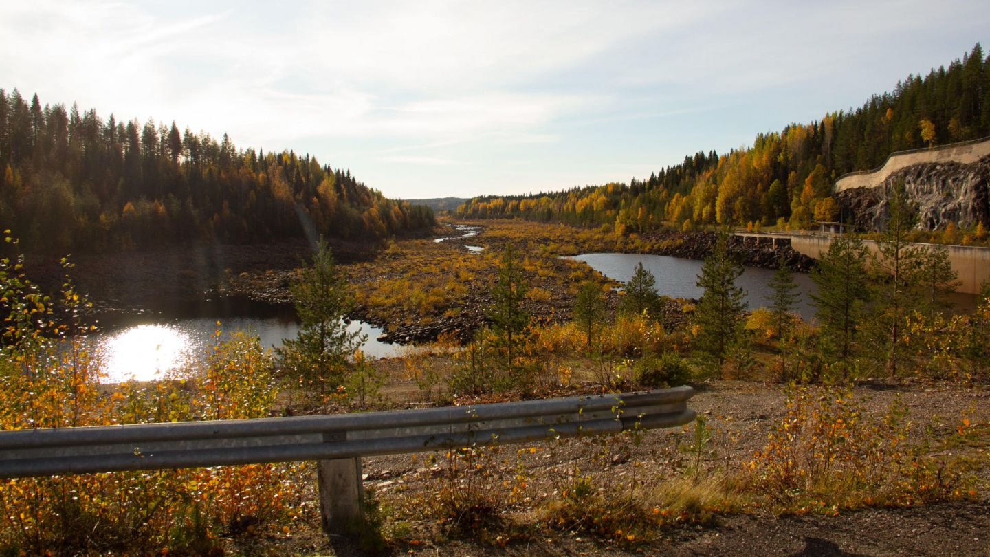 An autumn view of Lapland