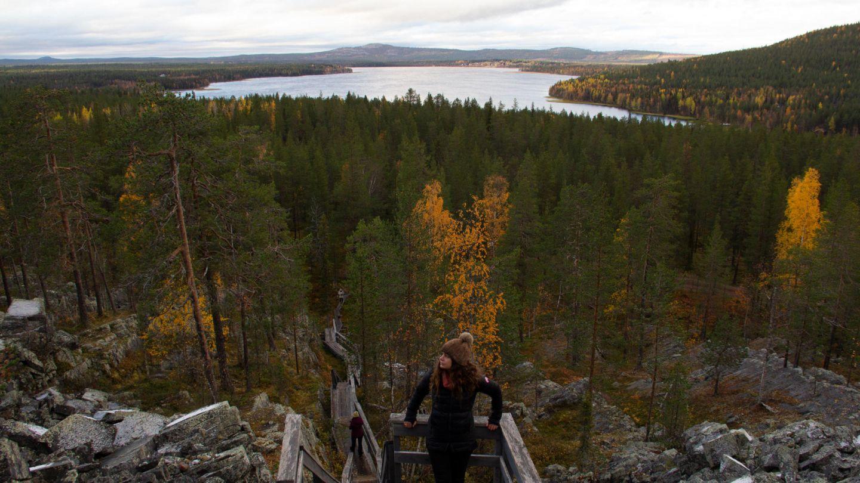 Autumn view of Lapland