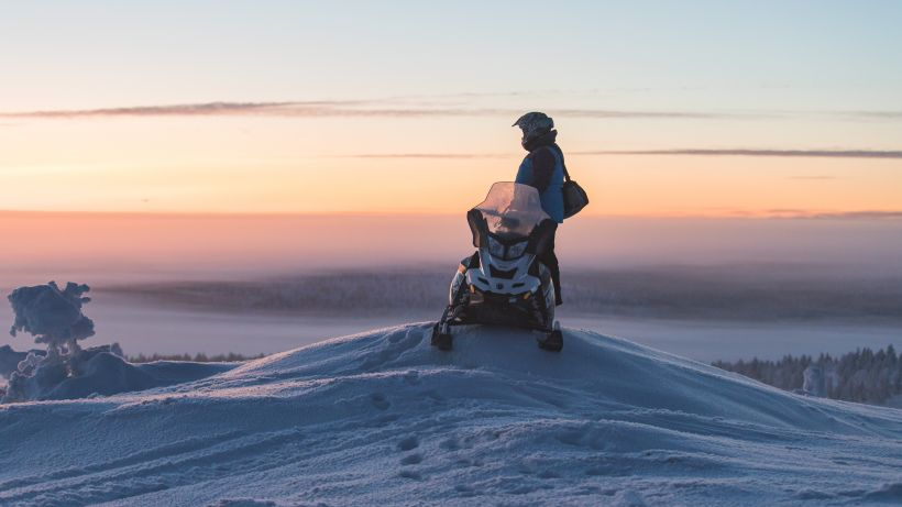 Finnish design, Lapland, snowmobile