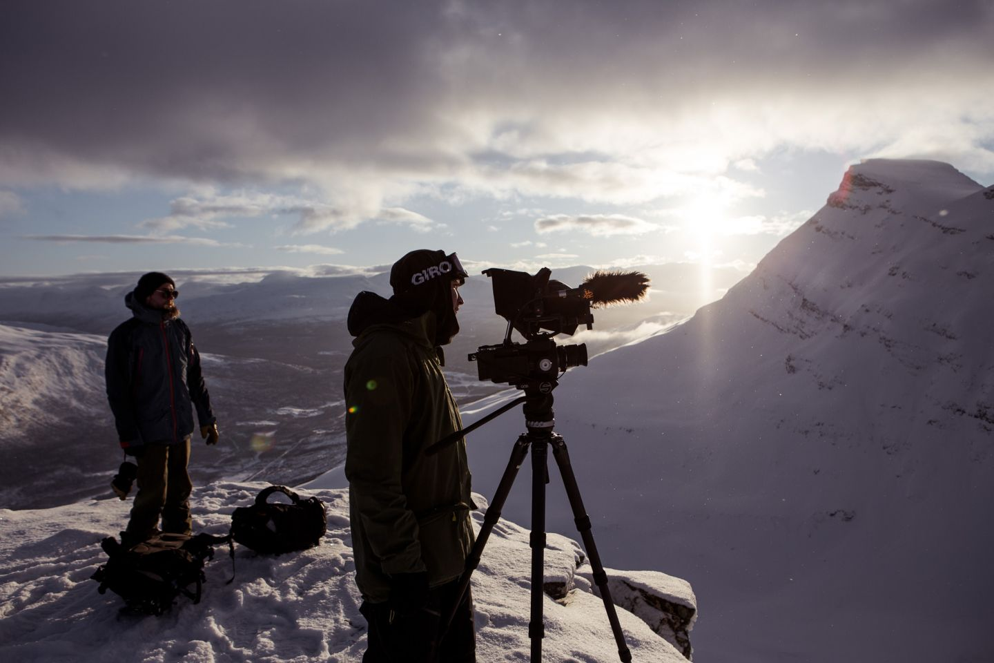 Kota Collective, filming on location in Finnish Lapland