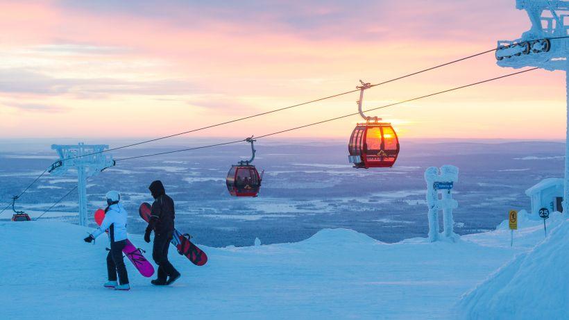 winter bucket list, Lapland, Ylläs