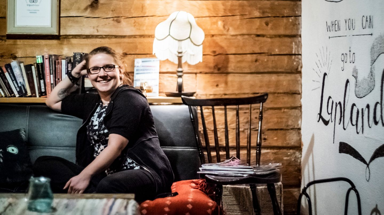 Seven Fells Hostellin yrittäjä Tinja Tamminen