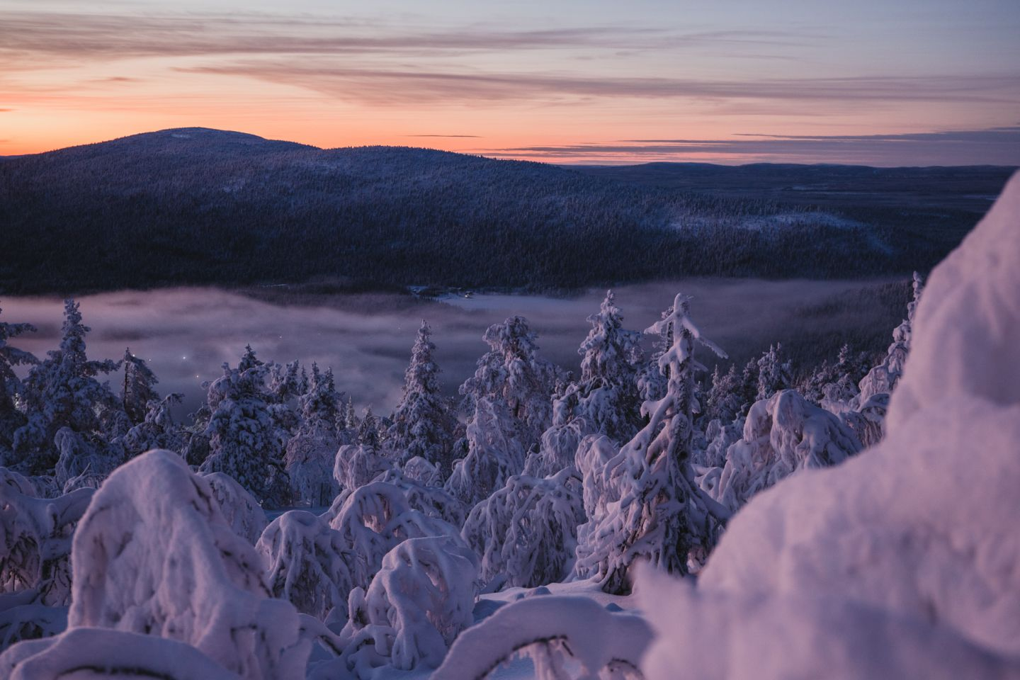 Mid-winter, Lapland Winter Photography, Levi, Polar Night