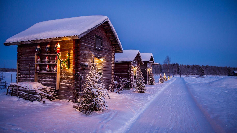 Snow Flower Finland, Lapland, Taivaanvalkeat