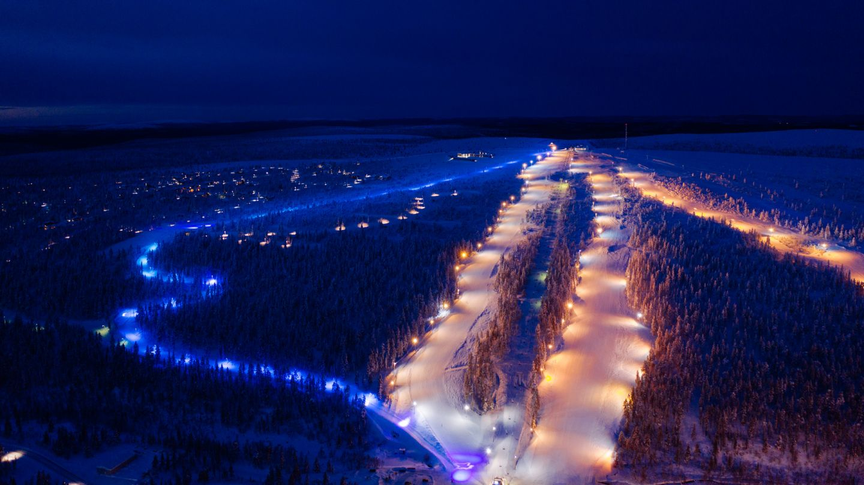Saariselkä toboggan run, Lapland Winter Bucket List