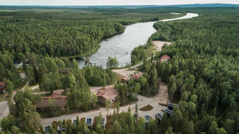 Arctic Circle Wilderness Lodge, Rovaniemi, Remote Holiday Destination, Lapland