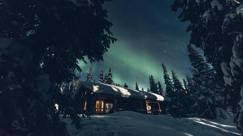 Syöte National Park, wilderness hut, remote holiday destination