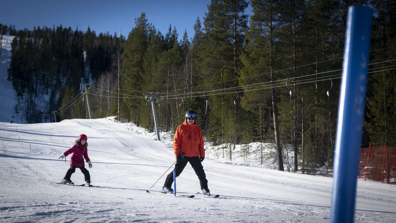 Hiihdonopetus hiihtokoulu Suomutunturi