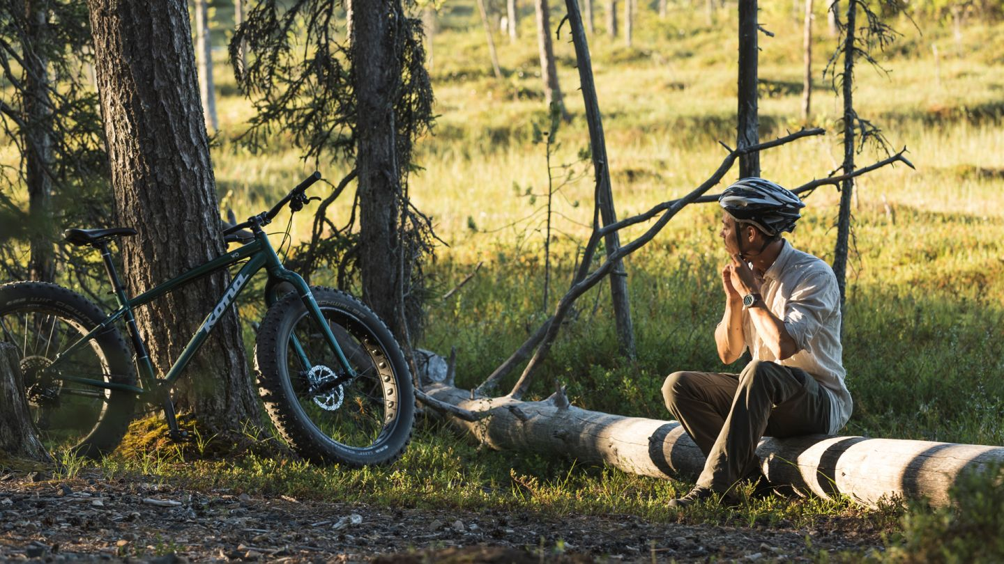 Riding a bike in Pyhä, Summer holiday bucket list