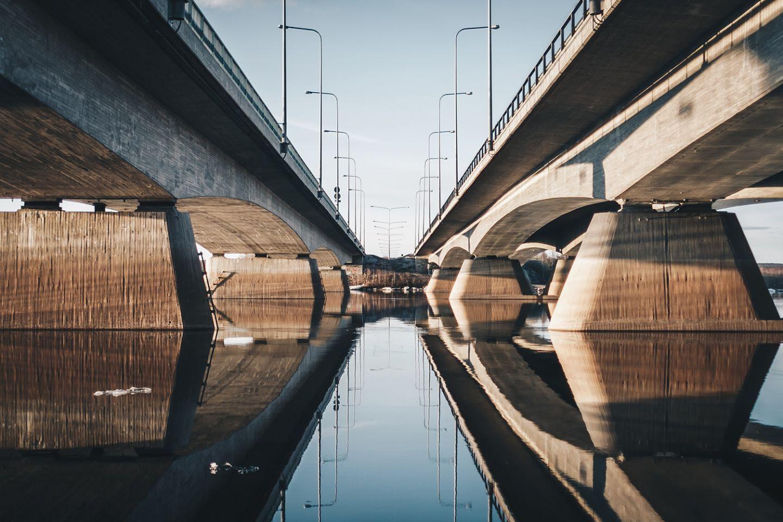 Ounasjoen sillat Rovaniemellä