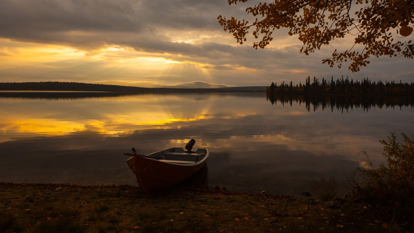 Boating in Finland, Lapland