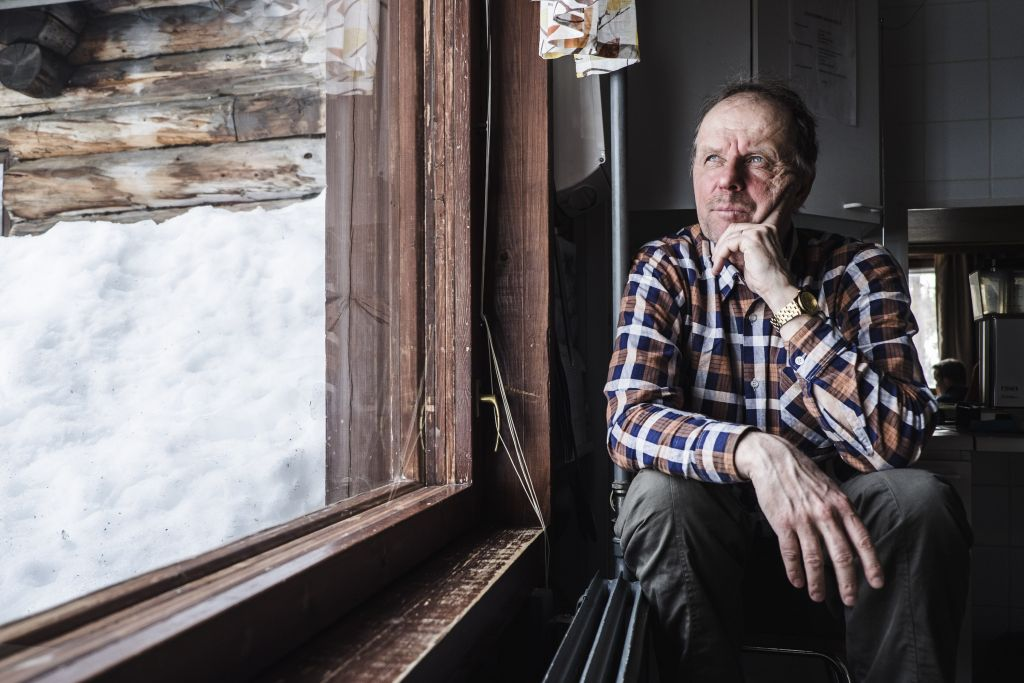 Tutkimusteknikko Teuvo Hietajärvi