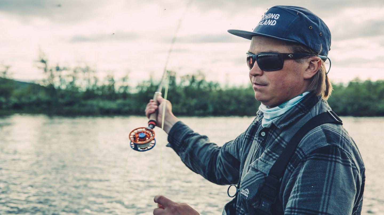 Kalastusta Kilpisjärvellä