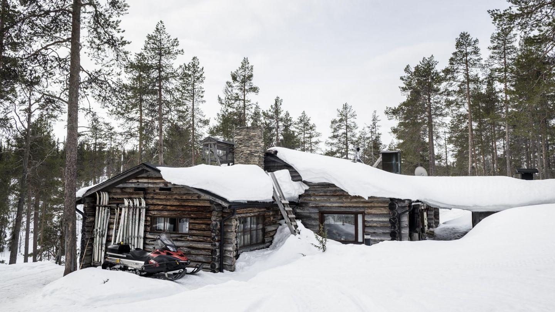 Värriön tutkimusasema Värriön luonnonpuistossa