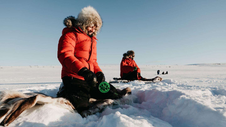 Ice Fishing, Utsjoki Bucket List