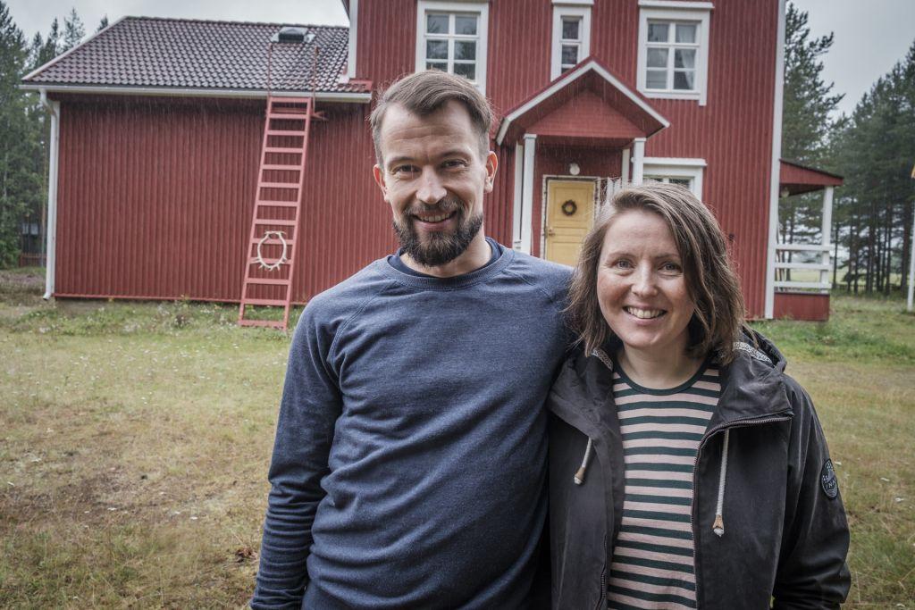 Vilma Pellinen ja Janne Uusitalo