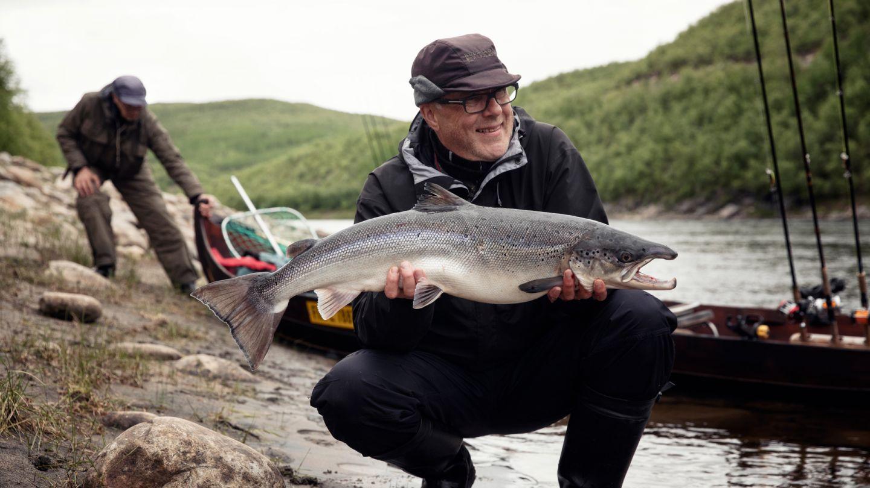 Salmon fishing, Utsjoki Bucket List