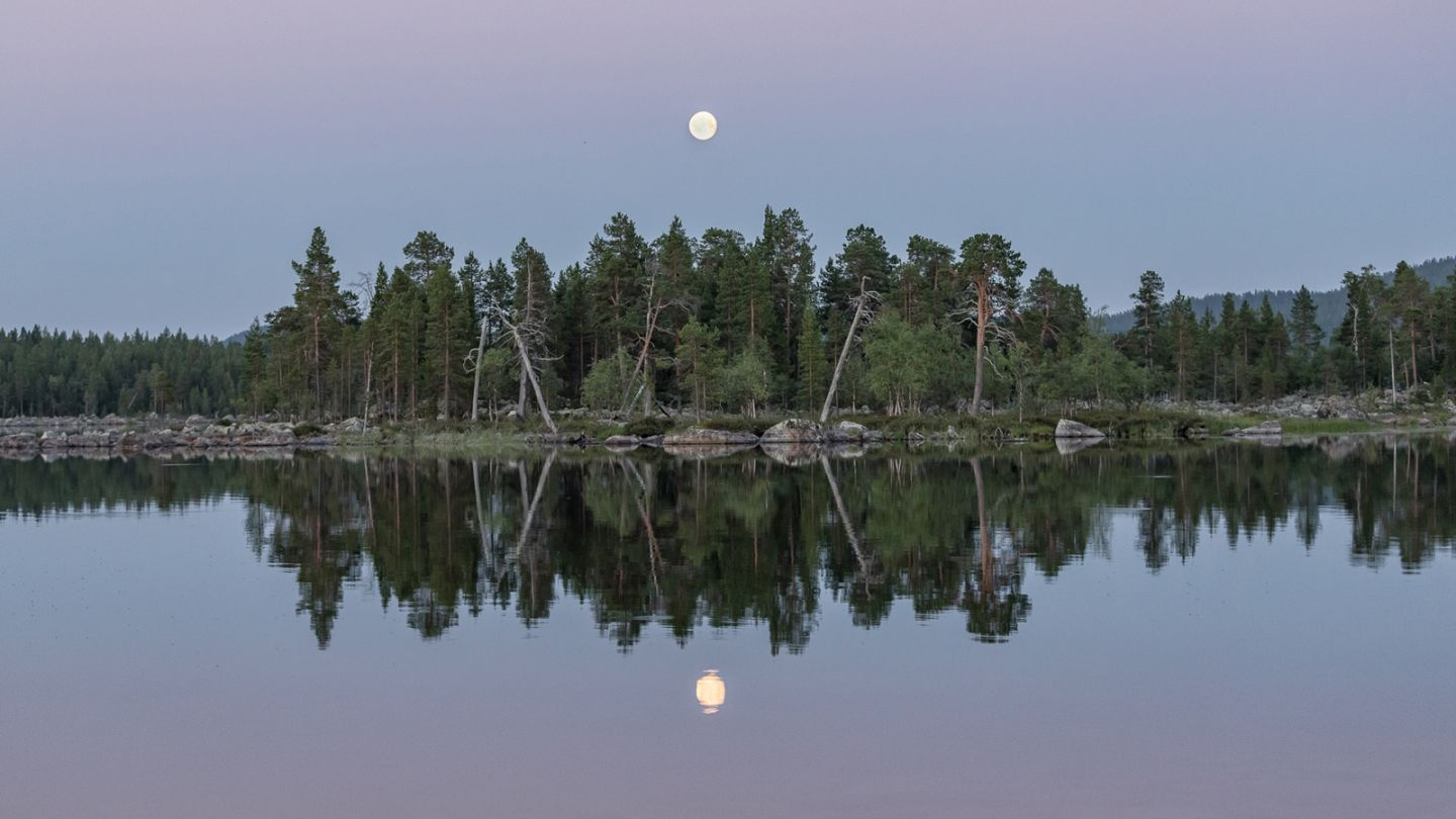 Inari, the most beautiful road in Finland, Lapland