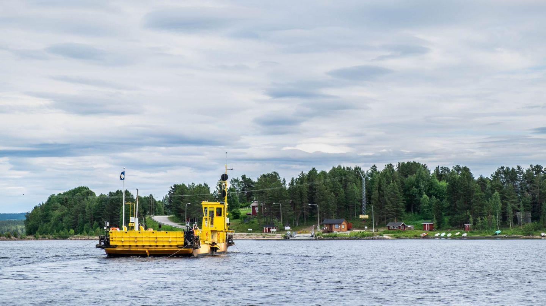 Kemijärvi, Räisälä Ferry, the most beautiful road in Finland, Lapland