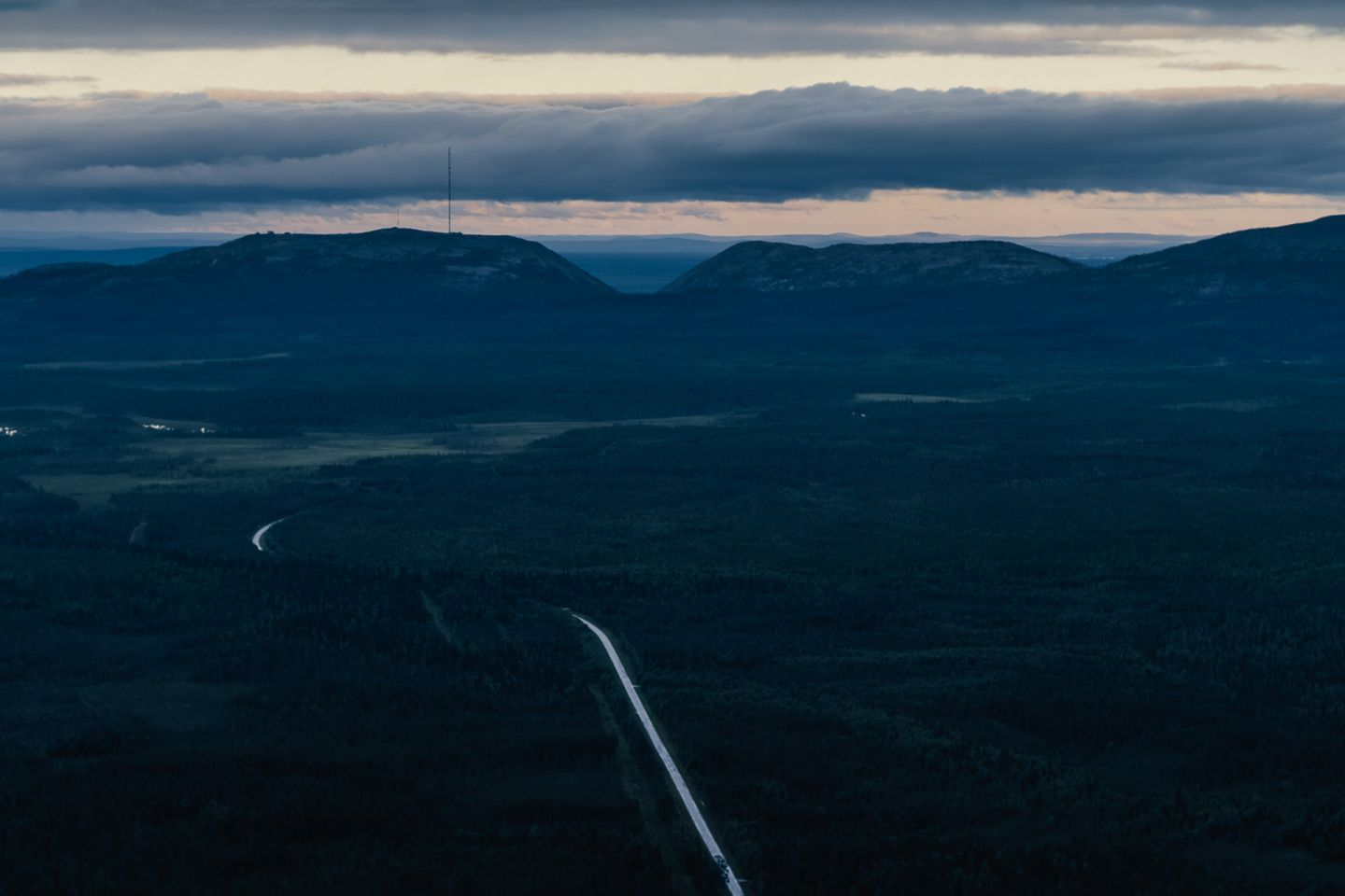 Pyhä, Luosto, the most beautiful road in Finland, Lapland