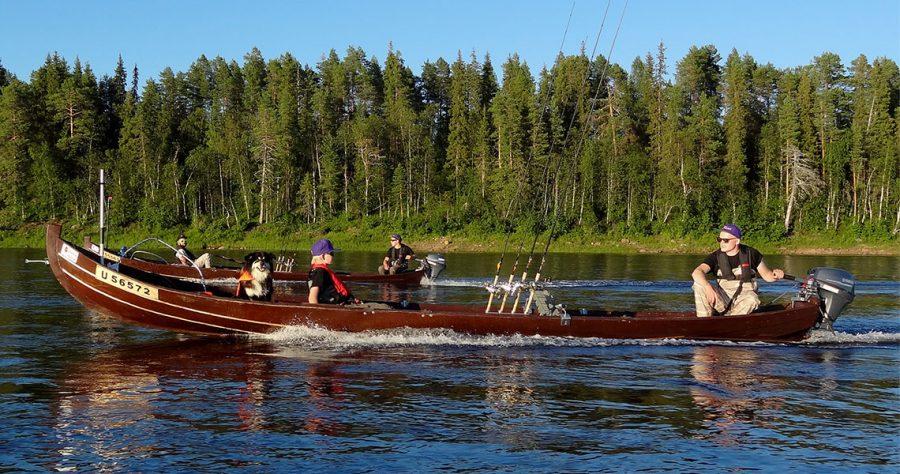 Fishing in Pello