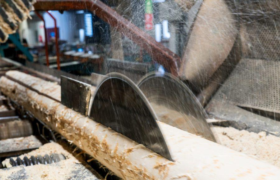 Pello wood processing